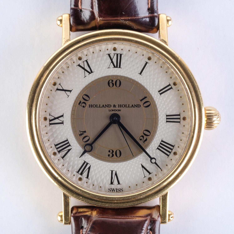 Holland & Holland 18k Chronometer, Case 41033
