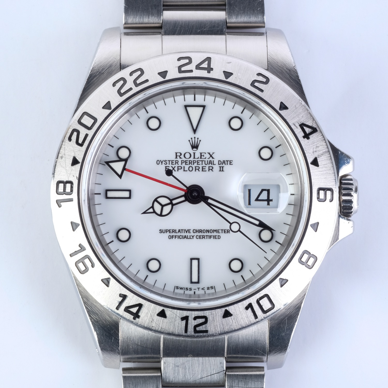 Rolex Explorer II Polar, 1998 Tuminova Dial