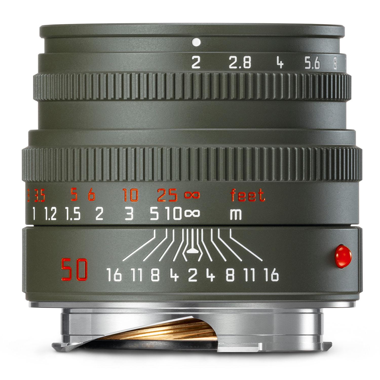 Leica 50mm f2 Summicron-M - Safari Edition
