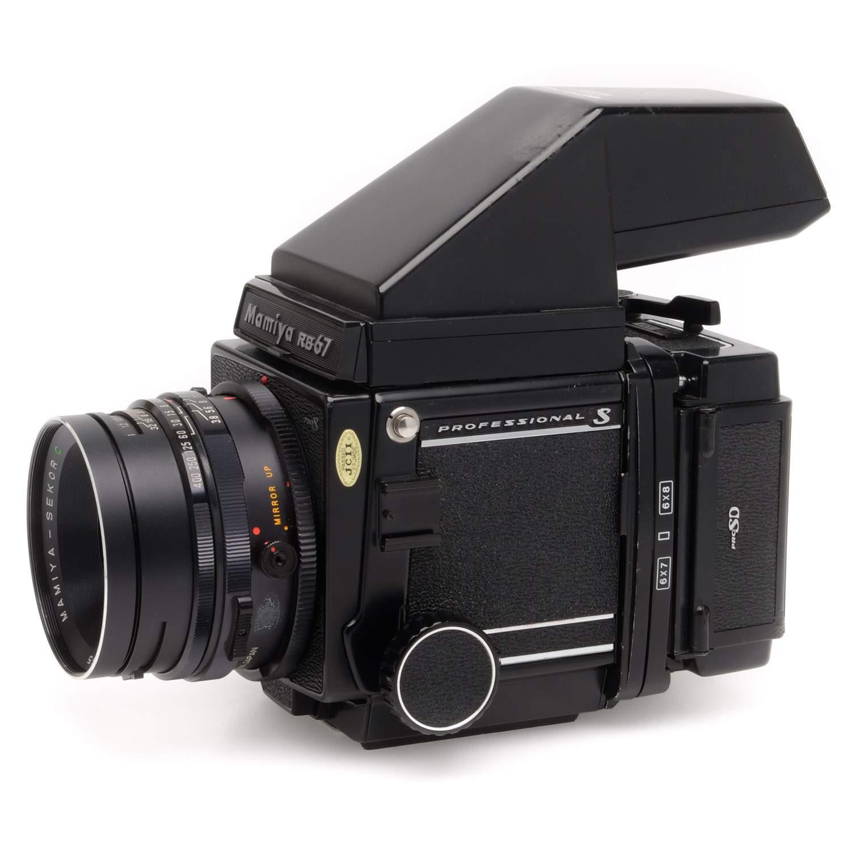 Mamiya RB67 Pro S, 127mm, Prism, 120 & Pola Backs C535110