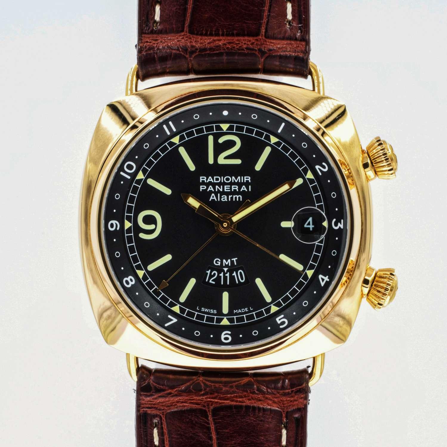 Panerai Radoimir 42 GMT Alarm PAM238, Boxed 198/200