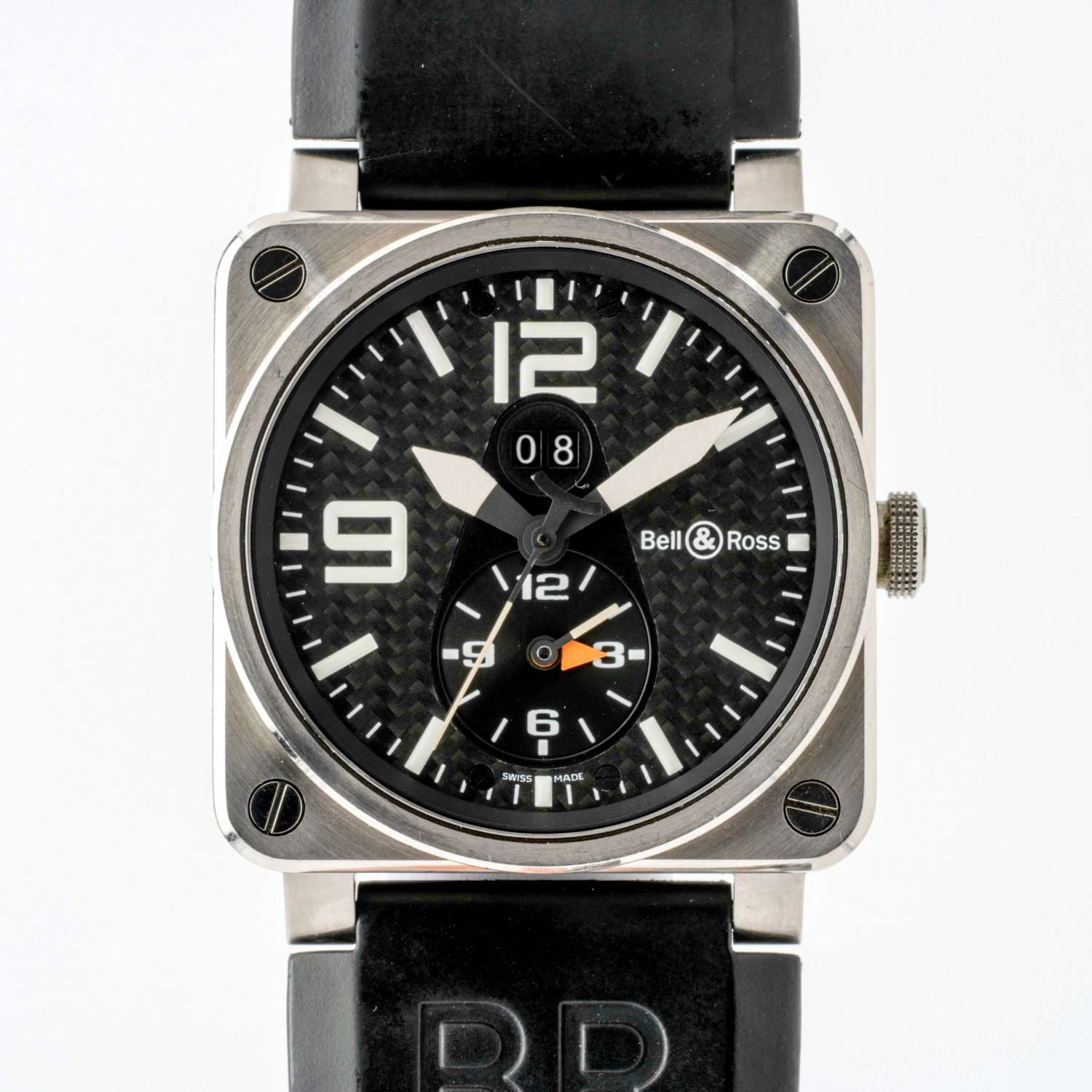 Bell & Ross GMT Titanium Automatic, Boxed 8172