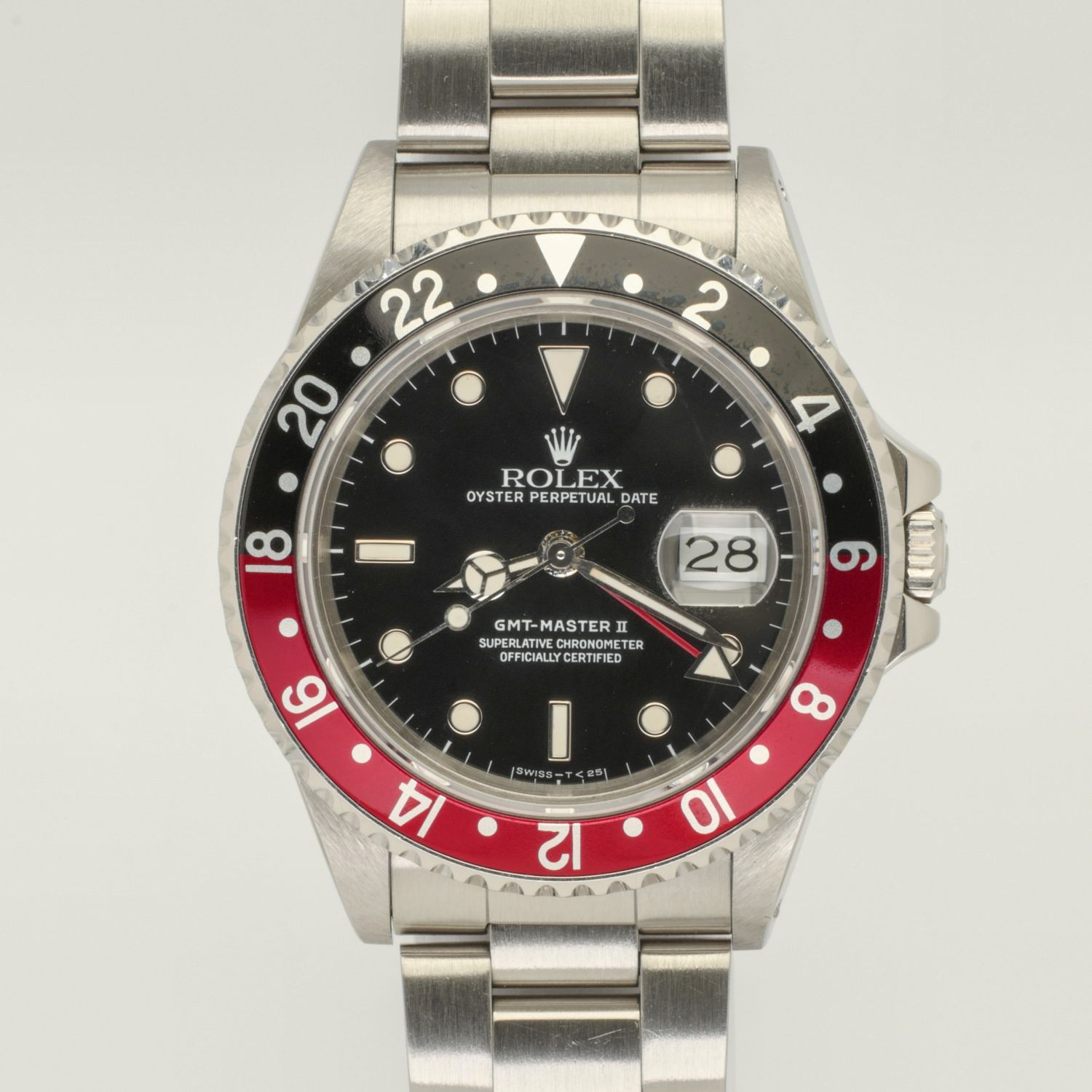 """Rolex GMT Master II Ref 16760 """"The Fat Lady"""""""