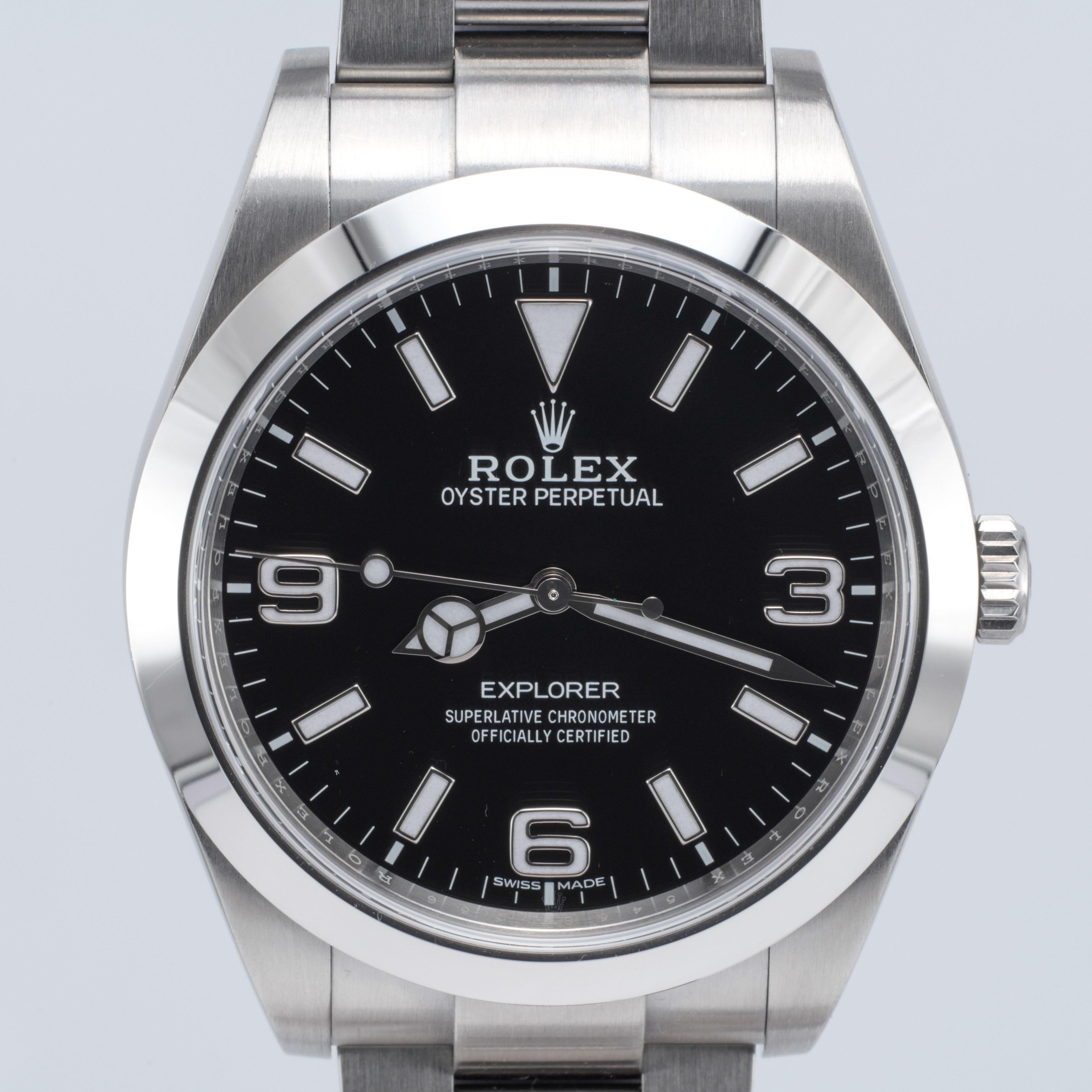 Rolex Explorer I Ref 214270