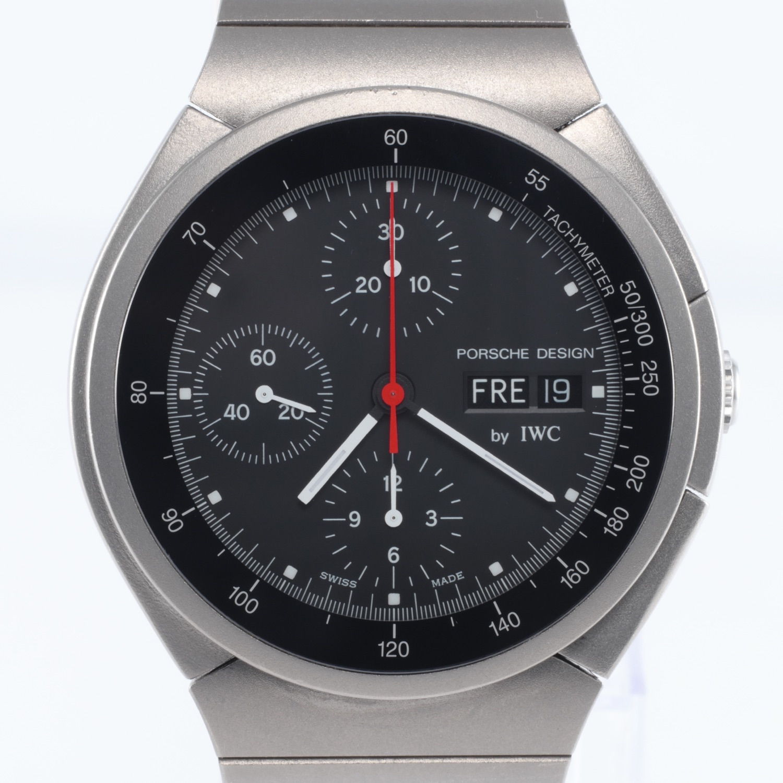 IWC Porsche Design Titanium Chronograph Ref 3704
