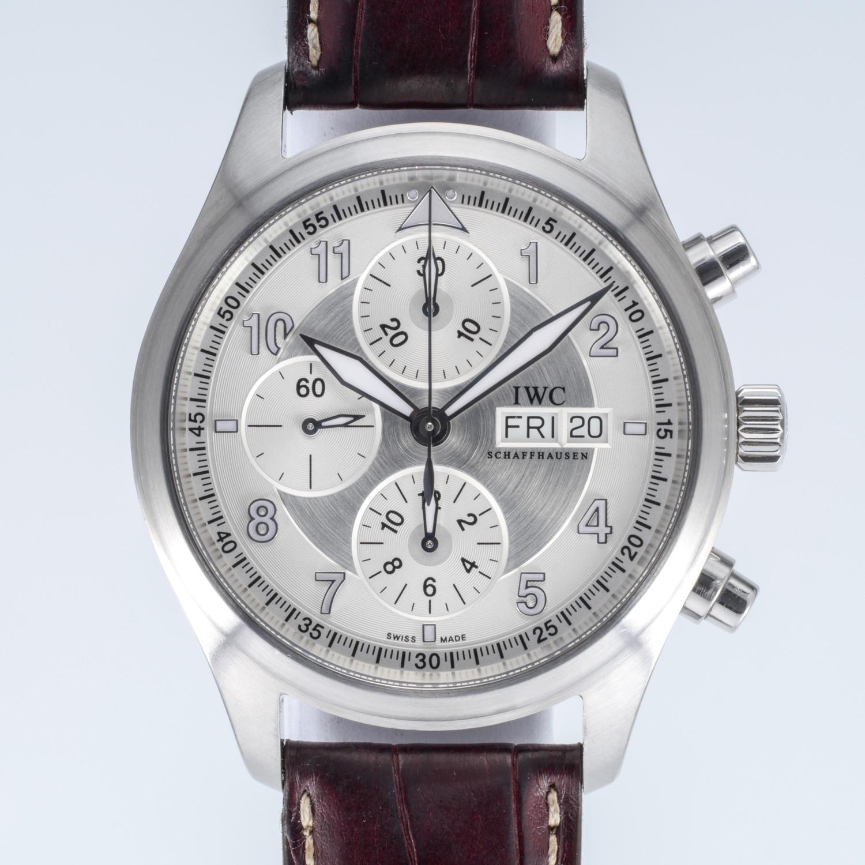 IWC Spitfire Chronograph Ref 3717-02