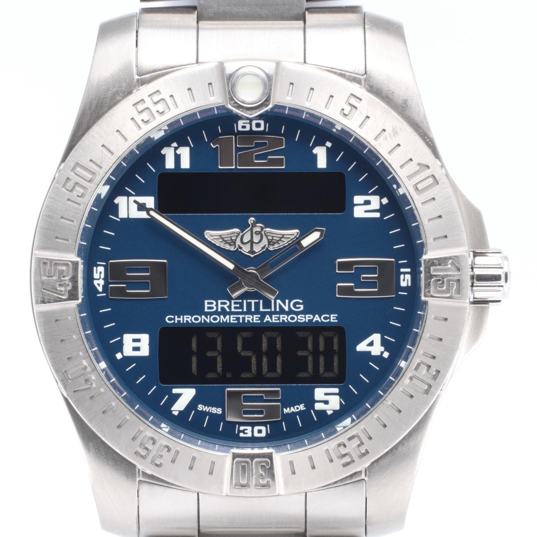 Breitling Aerospace Evo Titanium Ref E79363