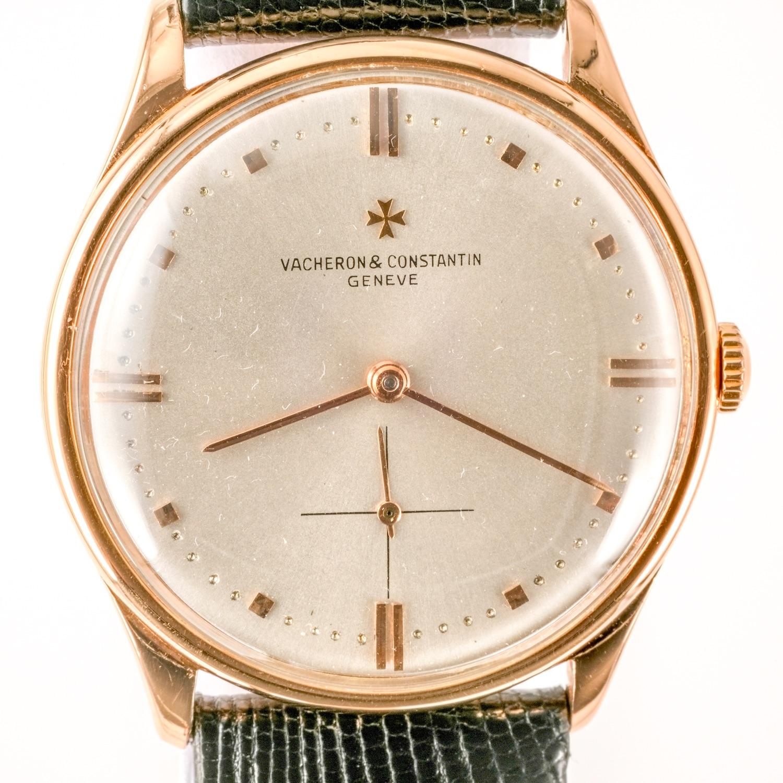 Vacheron Constantin 18K Pink Gold Ref 4195