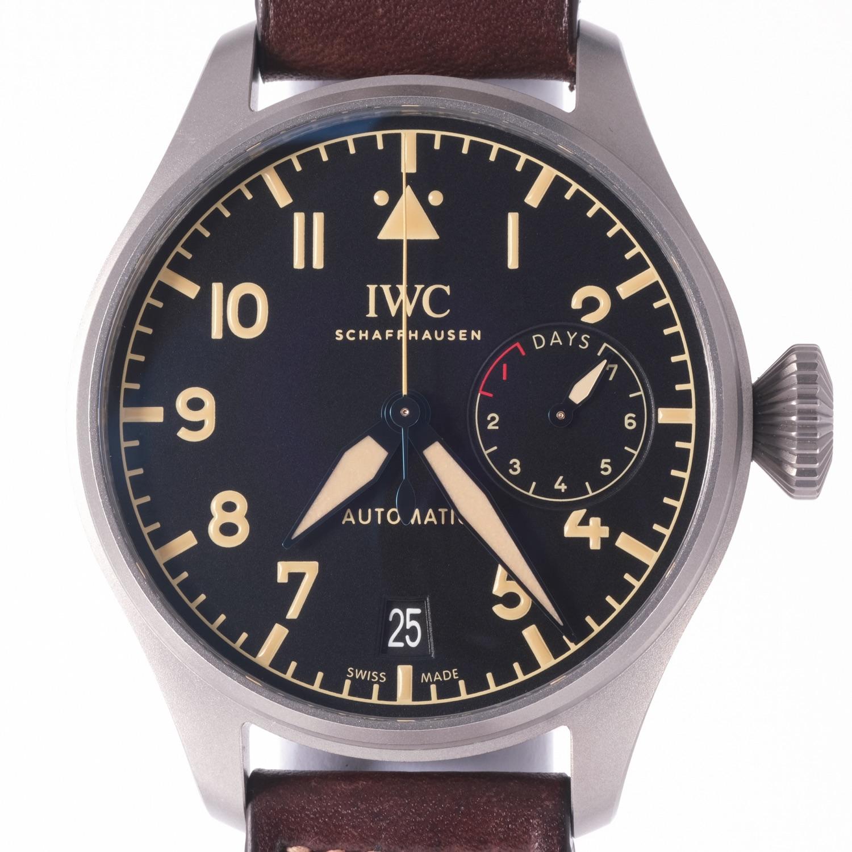 IWC Big Pilot Heritage Titanium Ref 5010-04