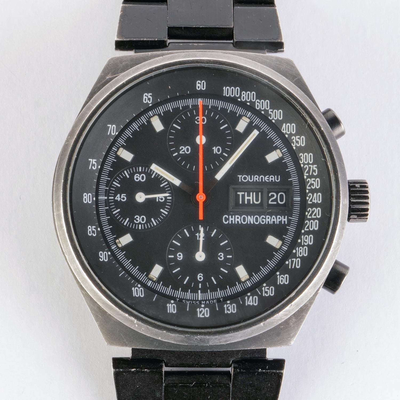 Tourneau Vintage PVD Chronograph 7000 Valjoux 7750